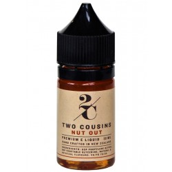 Two Cousins Nut Out E Juice Made in NZ by Two Cousins