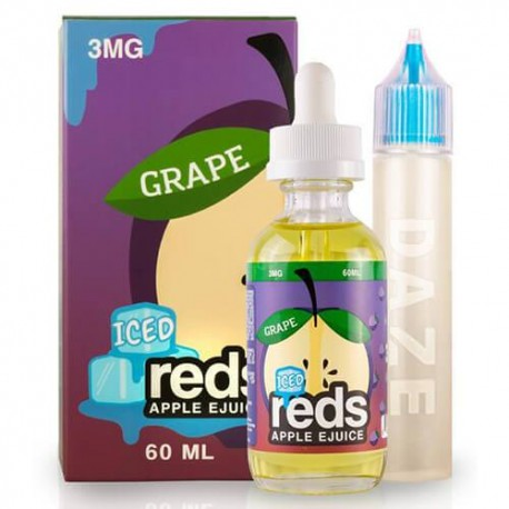 Reds Grape Iced by Reds Apple EJuice NZ & Australia