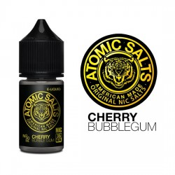 Atomic Salts | Cherry Bubblegum 30ml