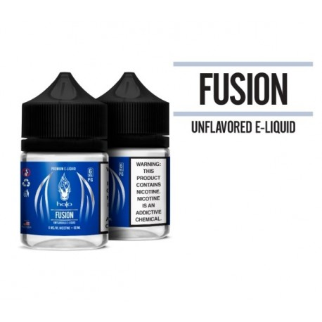 Halo Fusion | Unflavoured E-Liquid Base 50ml NZ & Australia