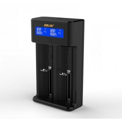 Golisi i2 Dual Battery Charger | Smart LCD display