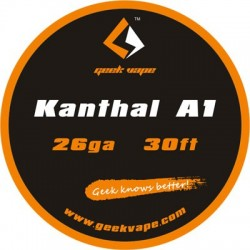 Geekvape Kanthal A1 Wire 26 Gauge 30ft