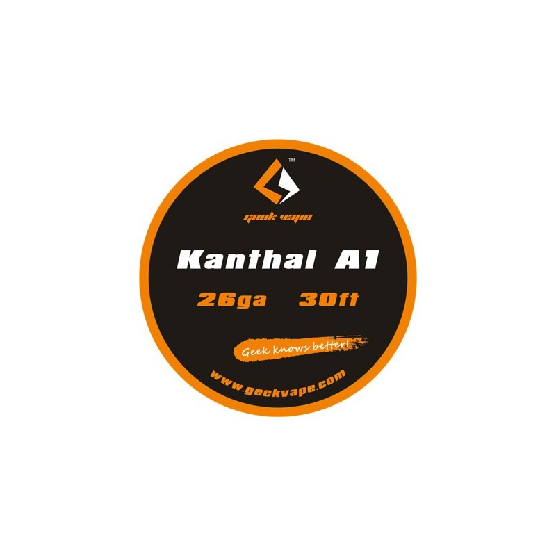 Kanthal A1 Wire 26 Gauge 30ft