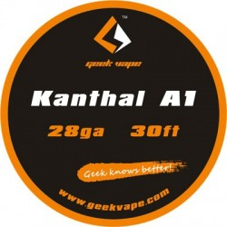 Geekvape Kanthal A1 Wire 28 Gauge 30ft