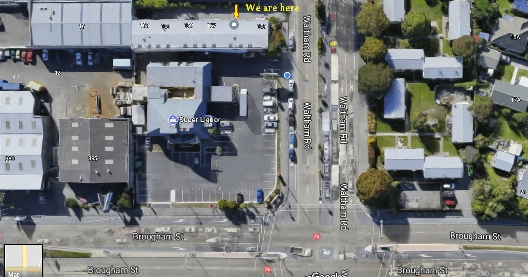 Steam Age Vape Shop CHCH store Location Directions